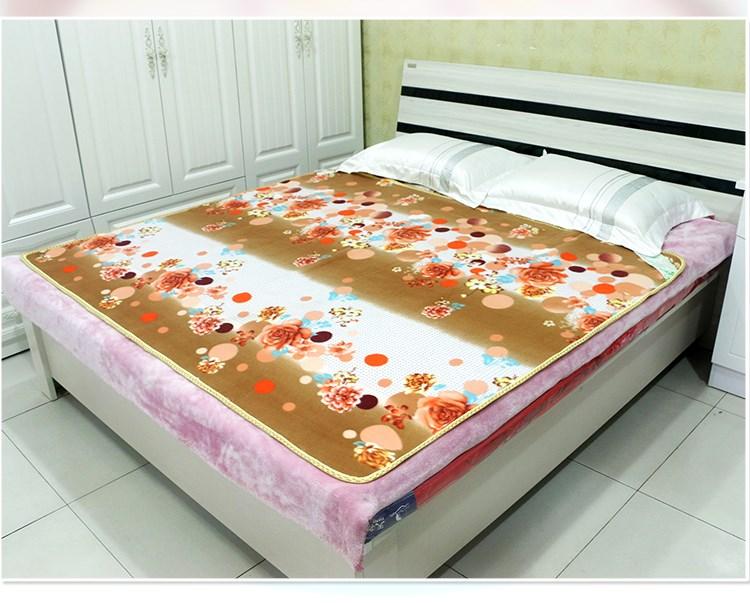 Chăn điện đơn sinh viên giường tăng dày đôi kiểm soát đôi nhiệt ba nhíp điện không có bức xạ