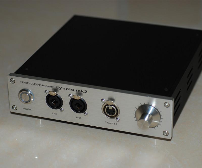1,053 85] Fully balanced 1266 Dynalo Headphone Amplifier
