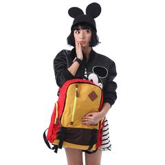 Disney/迪士尼米奇專柜正品尼龍布波普風雙肩背包男女出游旅行包