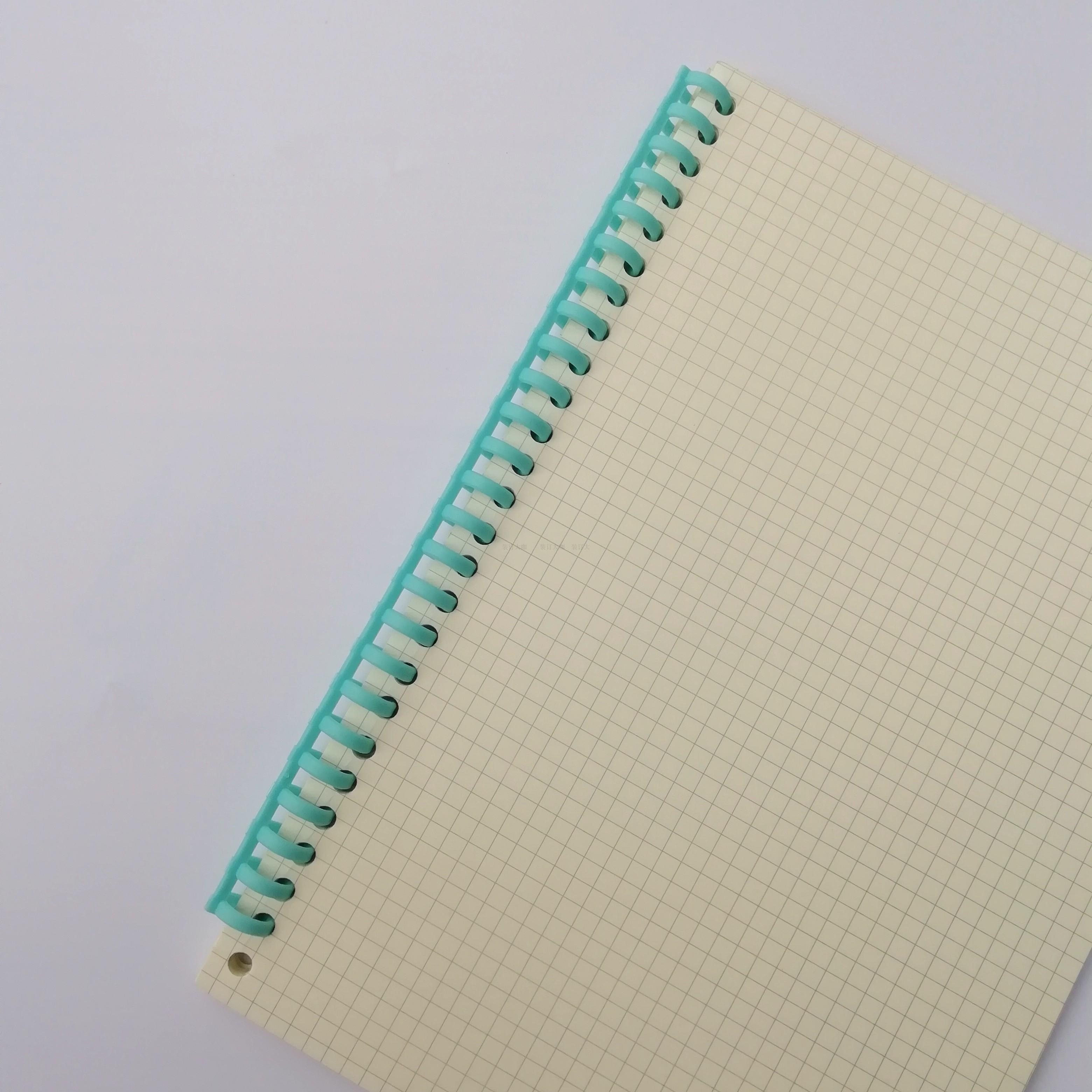 装订大咖团购链接25孔装订条 塑料 40条 活页本配件 年中促销