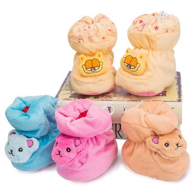 婴儿保暖高帮软鞋学步鞋