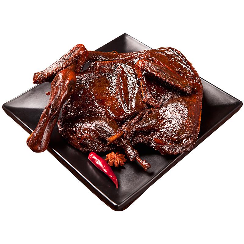 湖南酱板鸭正宗湖南特产香辣小吃零食