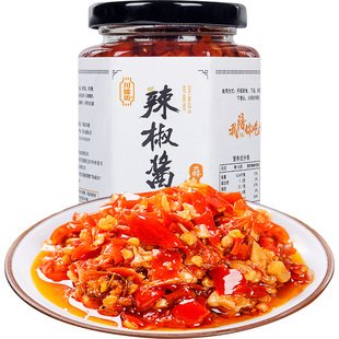 Sichuan specialty garlic and super spicy chili sauce
