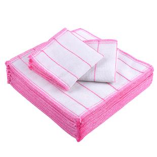 【10条装】厨房不沾油棉纱抹布清洁布