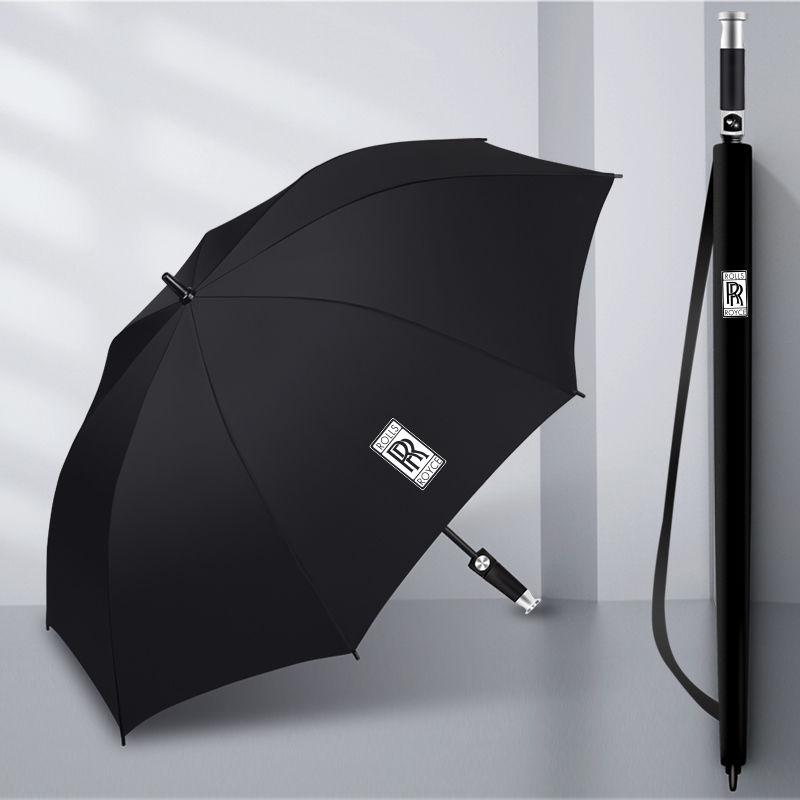 加大加厚雨伞男士商务长柄晴雨伞超大双人直杆车用伞礼品伞定制伞