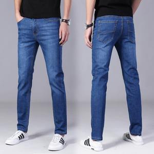 夏季薄款男士新款韩版休闲牛仔裤潮流