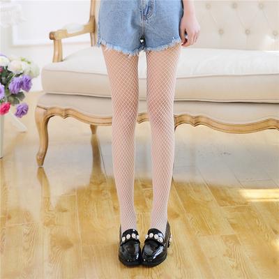 白色渔网袜连裤袜韩国性感黑丝袜女网眼网打底袜子夏季薄款防勾丝