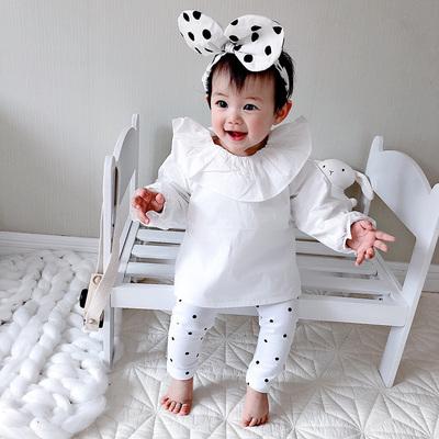 女婴儿童外出连体衣服男宝宝0网红3秋装6个月1岁外套装婴幼儿抱衣