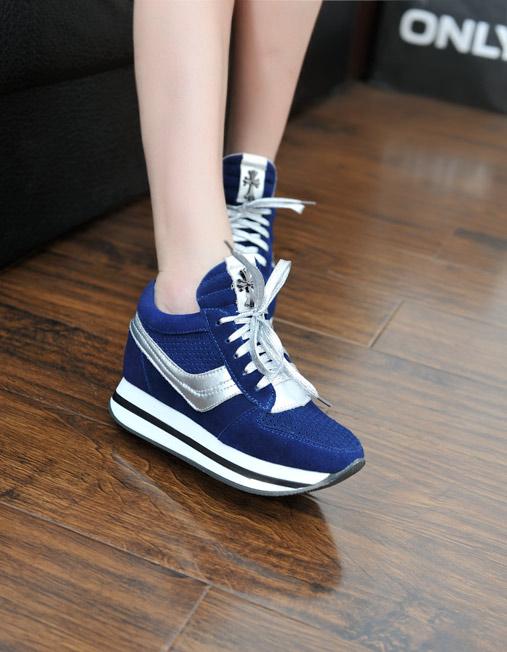 Hình ảnh nguồn hàng Giày thể thao tăng chiều cao nữ năng động giá sỉ quảng châu taobao 1688 trung quốc về TpHCM