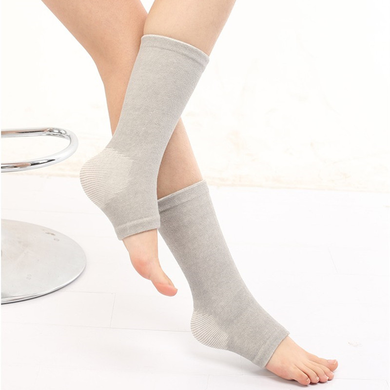 护踝运动崴脚男女脚腕关节护具袜套四季款护脚踝秋冬保暖小腿袜套