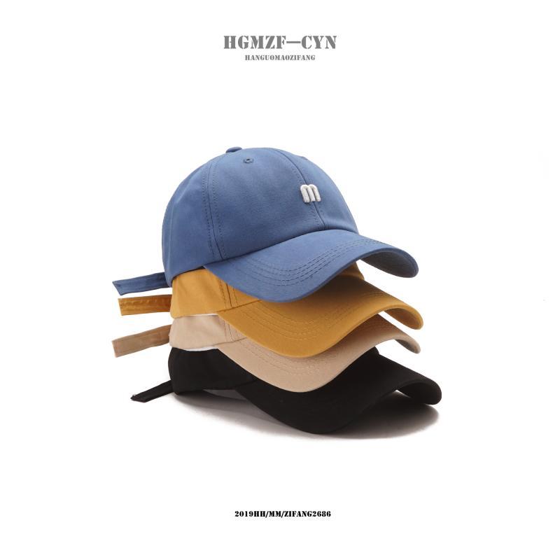 【M字母】韩版百搭棒球帽遮阳鸭舌帽