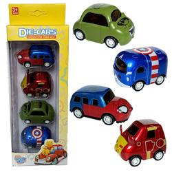 【今日特价网】宝宝小车合金儿童玩具车回力惯性小汽车玩具女孩男孩迷你1-2-3岁