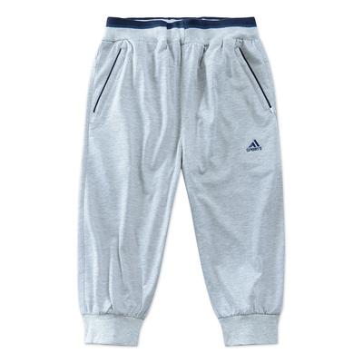 2018 mùa hè trung niên quần short nam cắt quần cotton phần mỏng giản dị trung niên quần nam quần quần short cha 3/4 Jeans