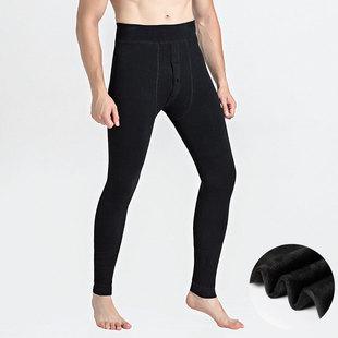 大卫路易斯男士秋裤纯棉打底裤青年