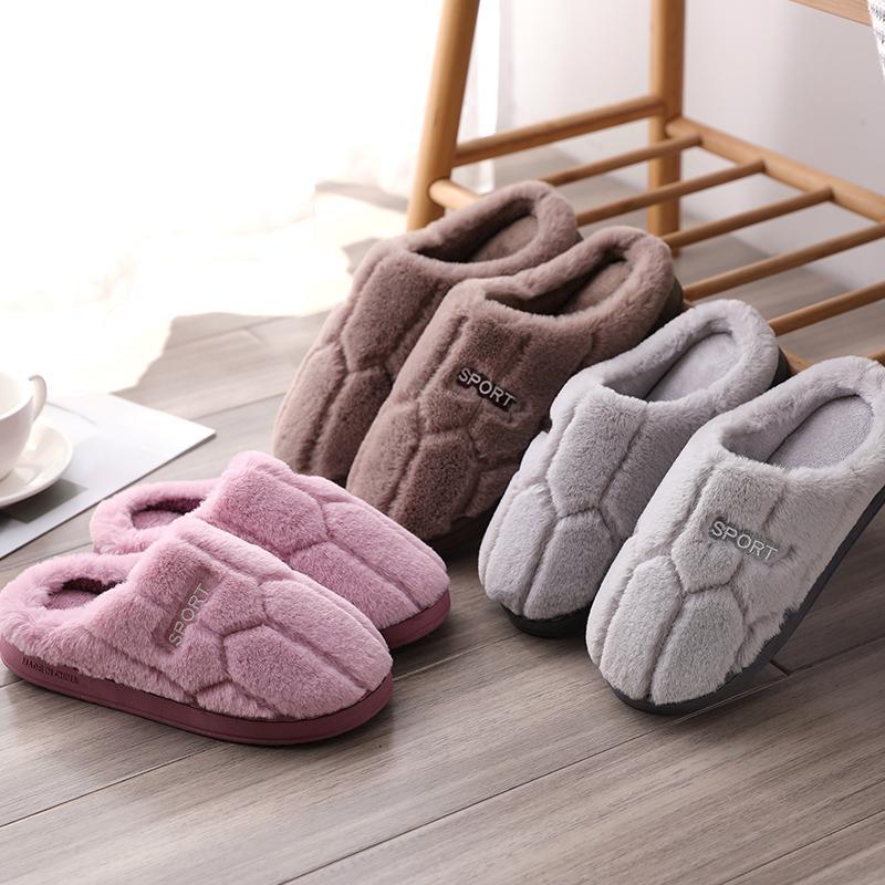 棉拖鞋女冬厚底情侣■可爱韩版学生宿舍家居防滑室内防滑拖鞋月145