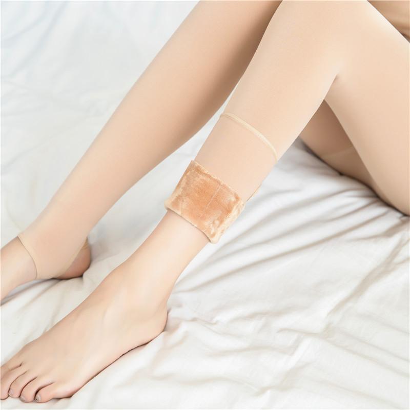 蒙口Moncler光腿神器冬隐形假透肉袜肤色加厚UQZ215