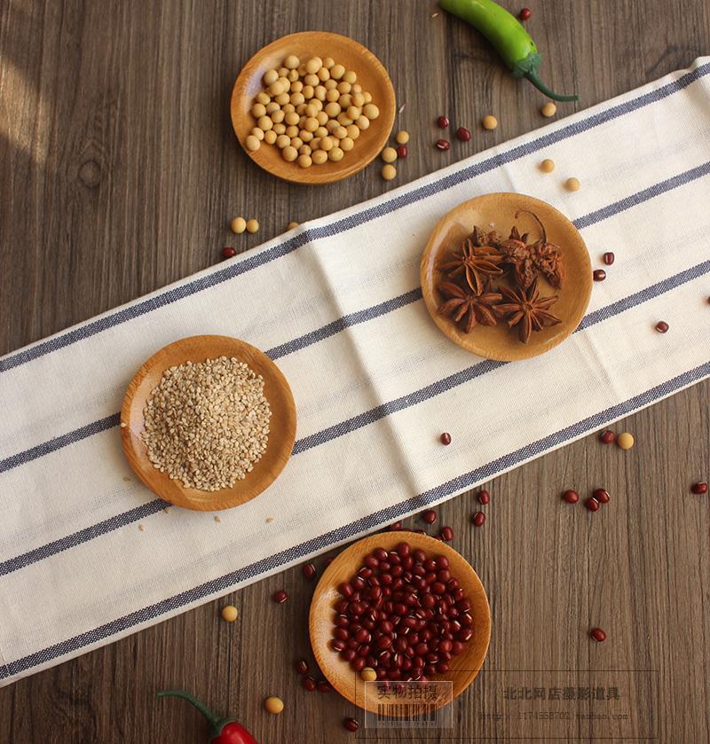 Thực phẩm tấm dinner tấm vòng khay trà mini tấm gỗ thực phẩm bộ trà Taobao cửa hàng ảnh nhiếp ảnh đạo cụ hình ảnh nền