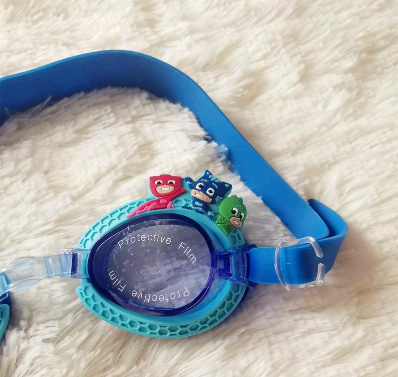 韩国儿童泳镜 新款造型泳镜 男童男孩中小童防雾泳镜动漫卡通泳镜