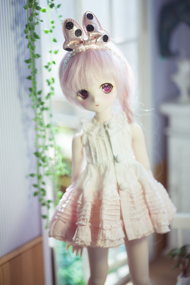 taobao agent [endless] Limited hand-dyed gradient dress bjd/sd/mdd/msd/dd/ doll girl dress