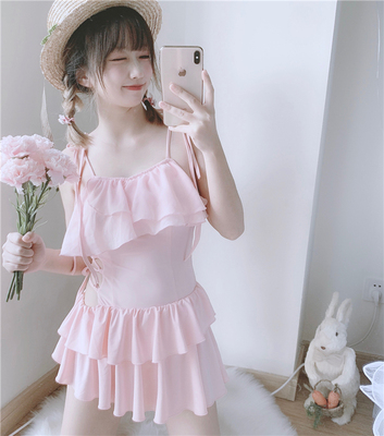 taobao agent 【To Alice】C4825 original little angel flying white book three-dimensional wings one-piece swimsuit