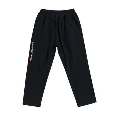 Thư mùa hè thêu giản dị chín quần của nam giới cộng với phân bón XL harem quần Hàn Quốc phiên bản của xu hướng lỏng lẻo nam quần