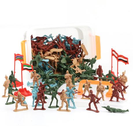   Цена 296 руб   Ребячество два война солдат человек солдат армия человек модель пластик злодей игрушка военный война борьба сцена злодей