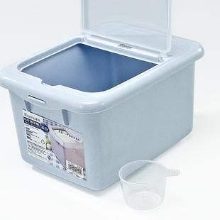 茶花米桶家用密封加厚装米桶防虫防潮米缸塑料面桶盒子厨房储米箱