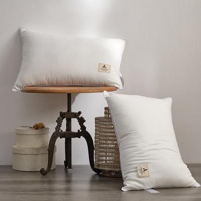 纯棉无荧光母婴级 五星级酒店单人枕头 成人超柔护颈枕芯 一只装