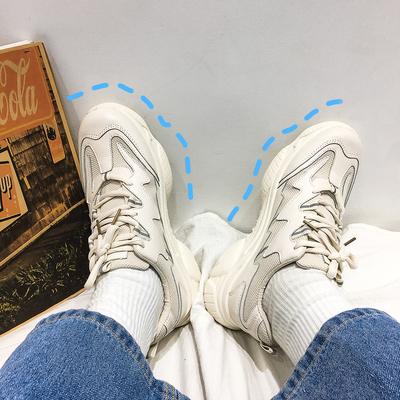 @方少男装 ins春季厚底休闲老爹鞋男士青年百搭潮流运动鞋子