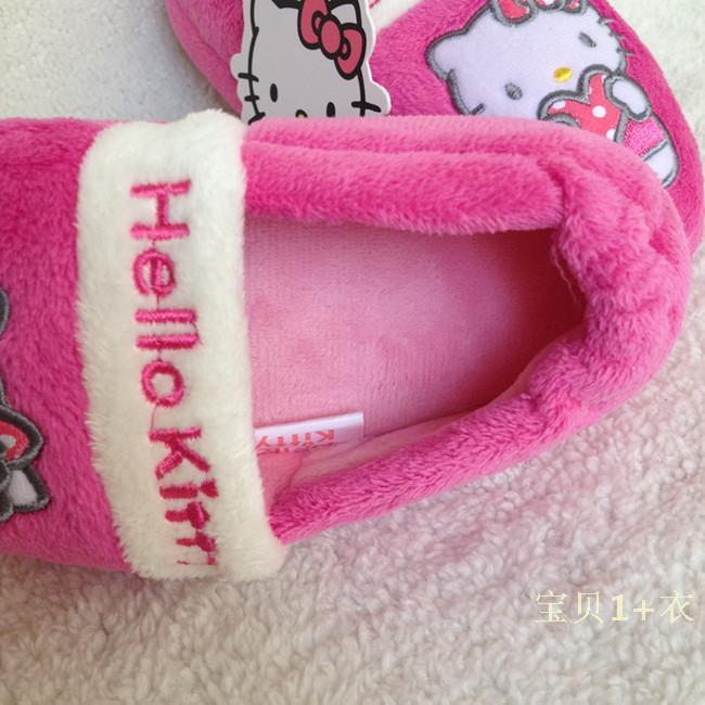 Детская обувь для дома Hello kitty