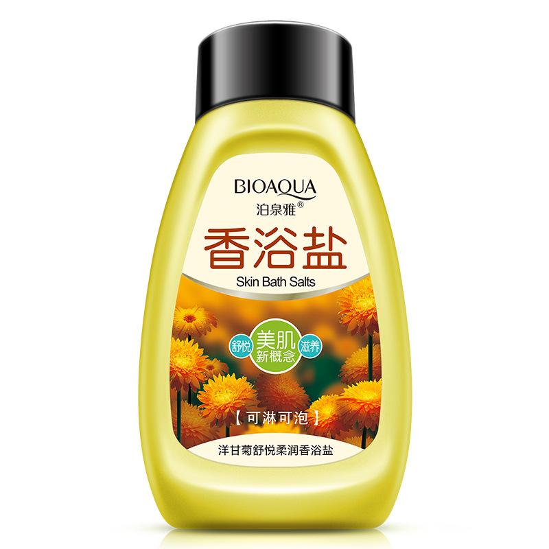 Boquan Yayang Chamomile Bath Muối Tắm Gel Rõ Ràng Giữ Ẩm Mỹ Phẩm Tẩy Tế Bào Chết Chăm Sóc Cơ Thể