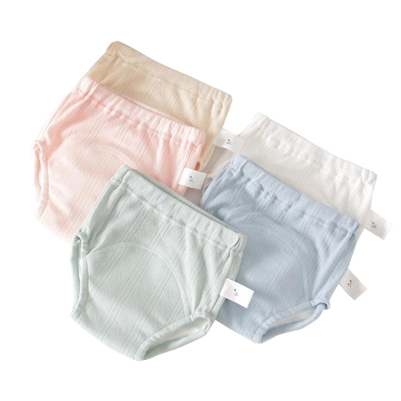 夏季婴儿尿布裤纯棉防漏防水透气可洗学习隔尿裤宝宝训练裤如厕