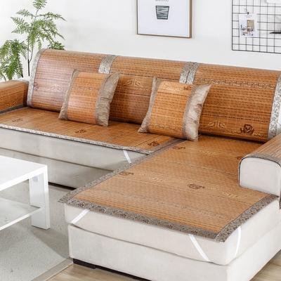 夏季沙发垫藤竹席凉席坐垫