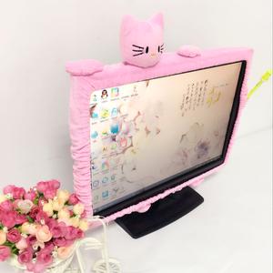 Phim hoạt hình dễ thương biên giới máy tính thiết lập máy tính xách tay bụi che màn hình máy tính để bàn bảo vệ bìa màn hình LCD bìa