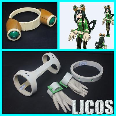 taobao agent 【LJCOS】My hero academia, frog blowing rainy season, glasses headgear, belt, hand armor, cosplay props