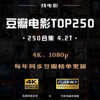 豆瓣电影TOP250百度云下载