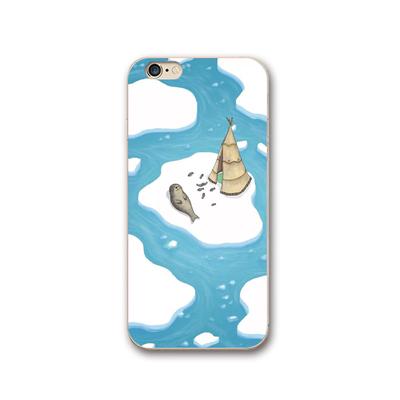 海豹卡通iPhone11pro手机壳xr苹果XS max卡通7/8plus硅胶软壳可爱