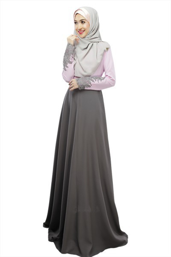 MUSLIMAH DRESS LONG SLEEVE SOUTH KORE (end 7/9/2020 5:15 PM)