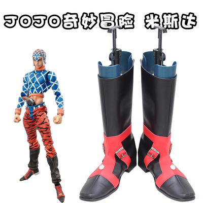 taobao agent D6376JOJO's Bizarre Adventure fifth Misda sexy pistol COSPLAY shoes COS shoes customized with pictures