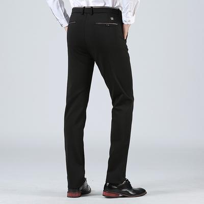 Mùa hè người đàn ông trung niên của quần thẳng người đàn ông mỏng của quần kinh doanh bình thường quần đàn hồi cao không quần sắt quần mỏng