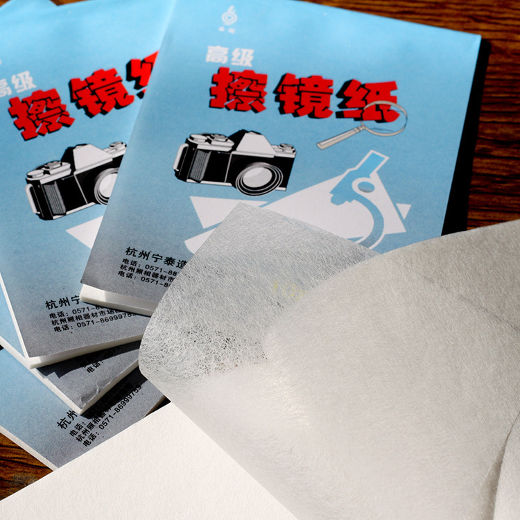 Nâng cao ống kính làm sạch giấy ống kính giấy lau mô sợi nhỏ kính hiển vi thấu kính làm sạch giấy SLR - Phụ kiện máy ảnh DSLR / đơn