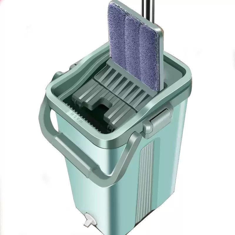 拖把免手洗家用干湿两用拖布懒人大号平板�e拖地神器一拖墩布净
