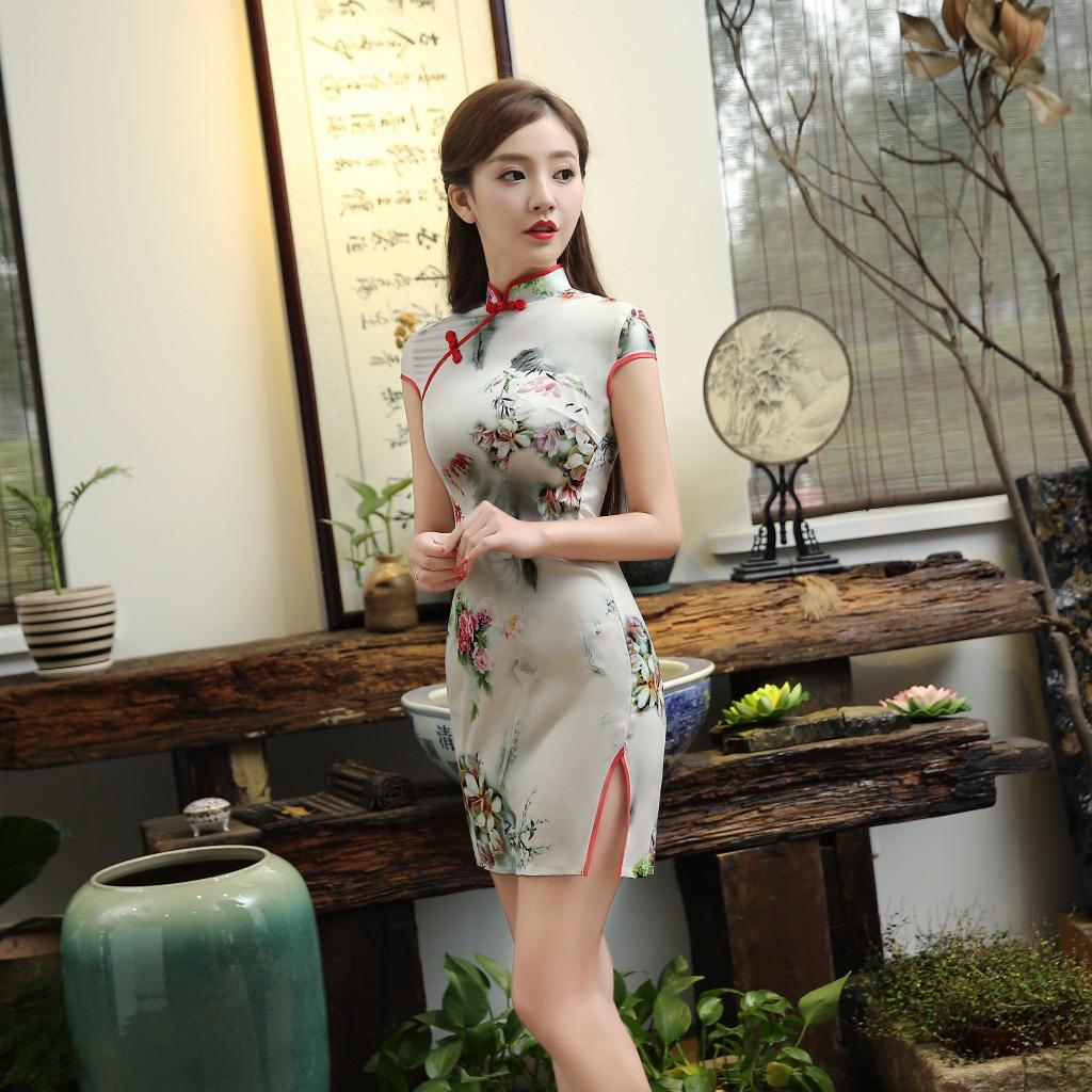 旗袍小美女(14) - 花雕美图苑 - 花雕美图苑