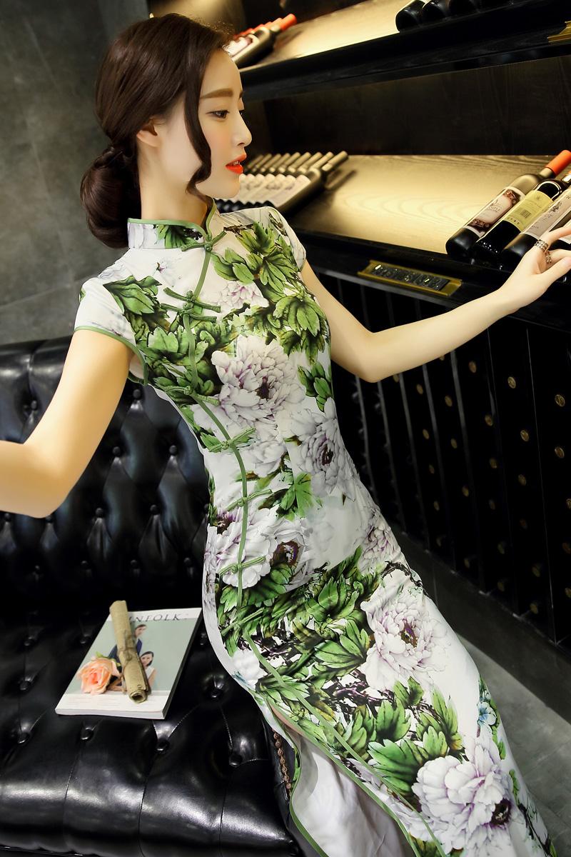旗袍俏美人(34) - 花雕美图苑 - 花雕美图苑